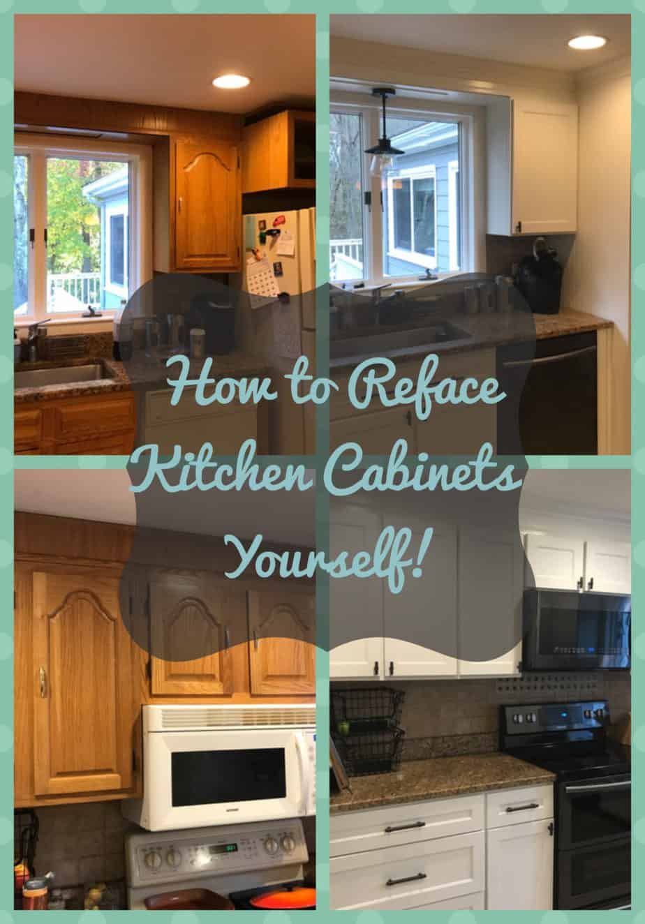 Diy Kitchen Cabinet Refacing The Easy Way To Transform Your Cabinets